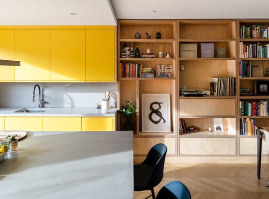 bespoke shelving kitchen